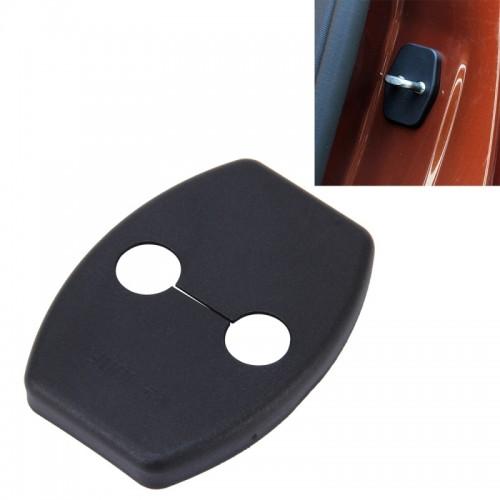 4 PCS Car Door Lock Buckle Decorated Rust Guard Protection Cover for Toyota RAV4 Corolla Reiz VIOS Camry Highlander Yaris Prado Prius Crown
