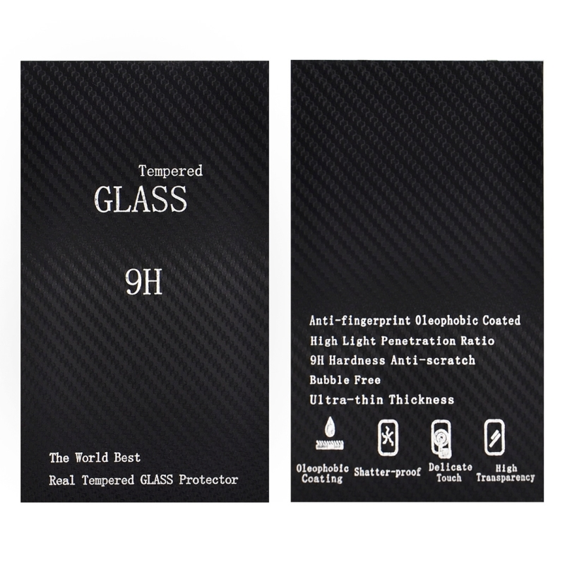 For Samsung Galaxy S8 / G9500 0.3mm 9H Surface Hardness 3D Curved Surface Silk-screen Full Screen Tempered Glass Screen Protector (Black)