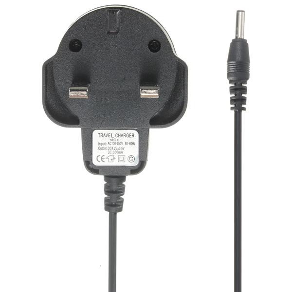 Universal 3.5mm UK Plug Charger For LED Flashlight Headlight 93.5cm
