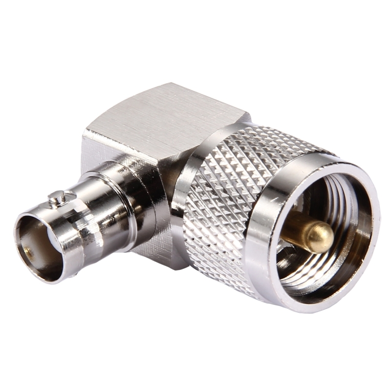 Uhf male to bnc female connector degree elbow alex nld