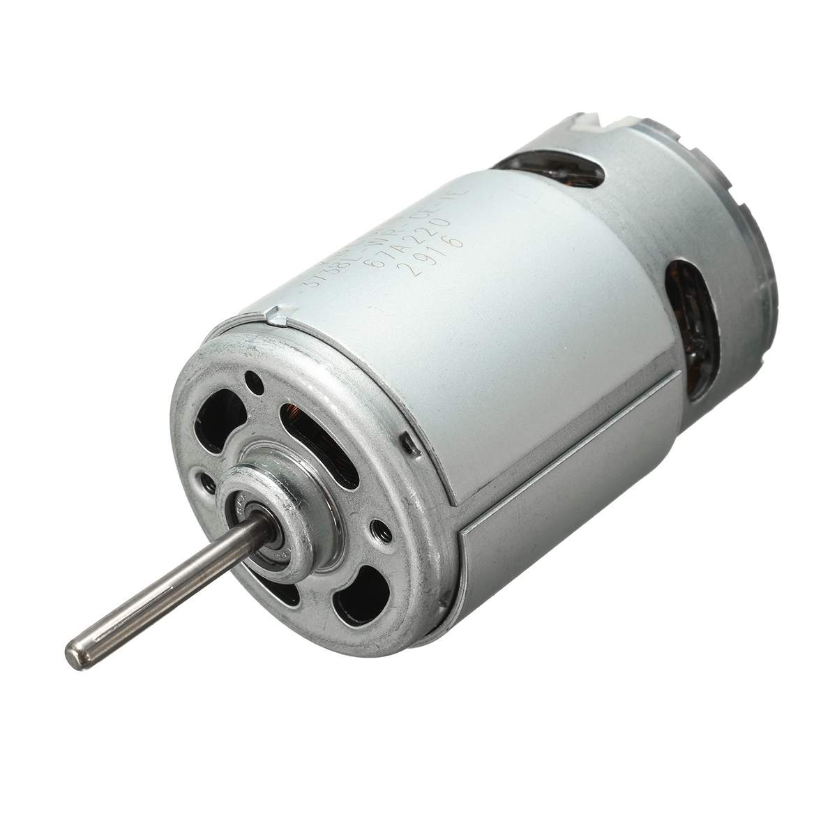 Dc 12 24v ball bearing electric motor 2900rpm large torque for Large dc electric motor