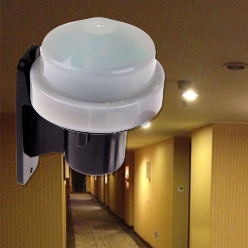 Outdoor Photocell Daylight Dusk Till Dawn Auto Sensor Light Bulb Switch Energy Saving 230-240V