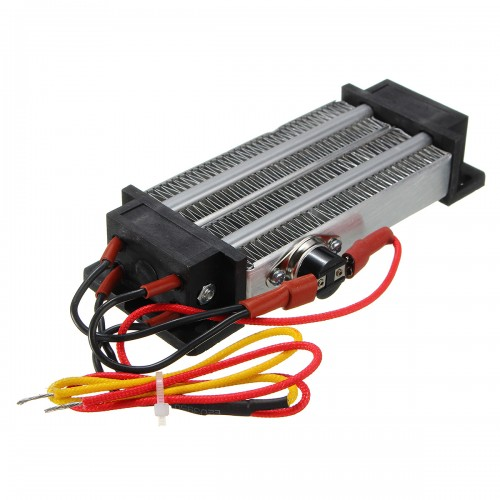 500W AC 220V PTC Heating Element Heater Ceramic Thermostatic Heater
