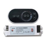 Wireless RF Remote Touch Dimmer For Single SMD5630/5050/3528 LED Strip Light DC12V-24V