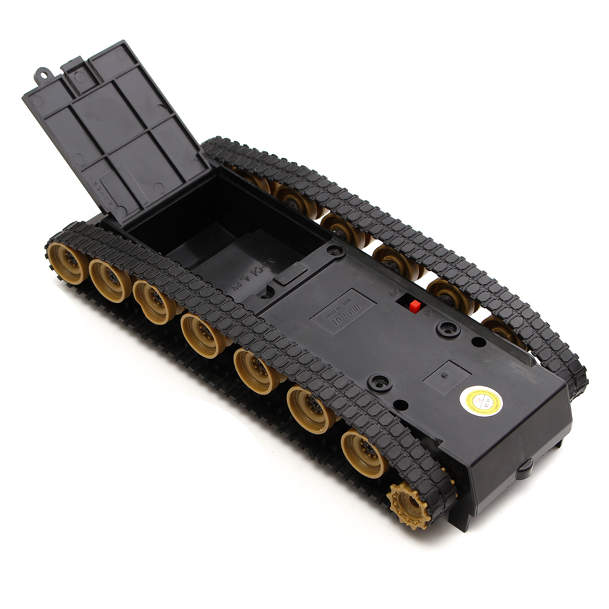 Diy smart robot tank chassis tracking car kit for arduino
