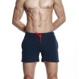 Men's Quick-drying Beach Casual Loose Sports Outdoor Gym Cotton Knee Length Shorts