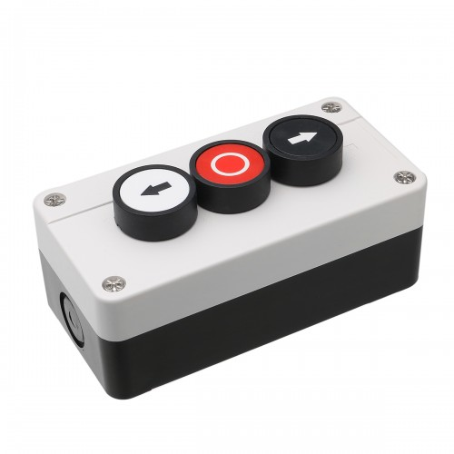 Push Button Station Up Down Arrows with Stop Button Hoist Roller Shutter Door