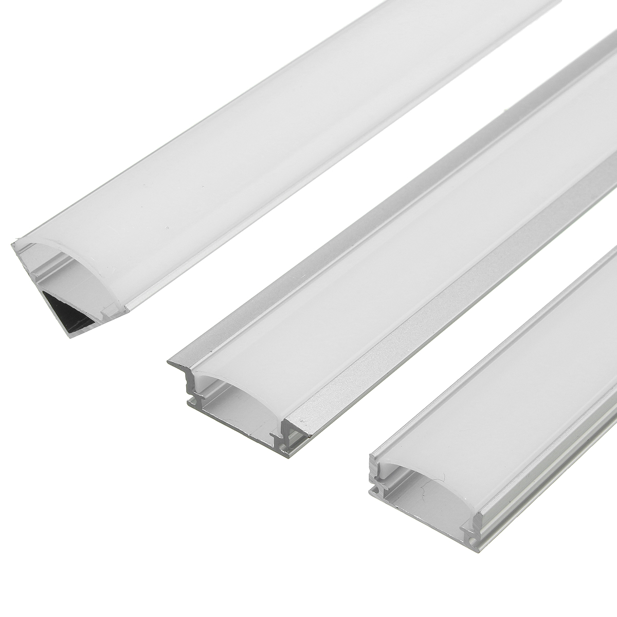 45cm U V Yw Style Aluminum Channel Holder For Led Rigid
