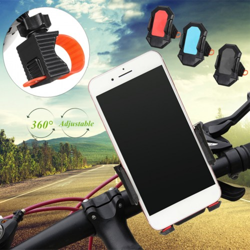 360° Rotation Bike Cycling Bicycle Handlebar Stand Mount GPS Holder for iPhone 7