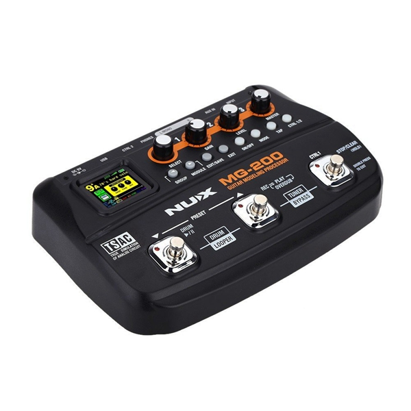 nux mg 200 professional guitar modeling multi effects processor. Black Bedroom Furniture Sets. Home Design Ideas
