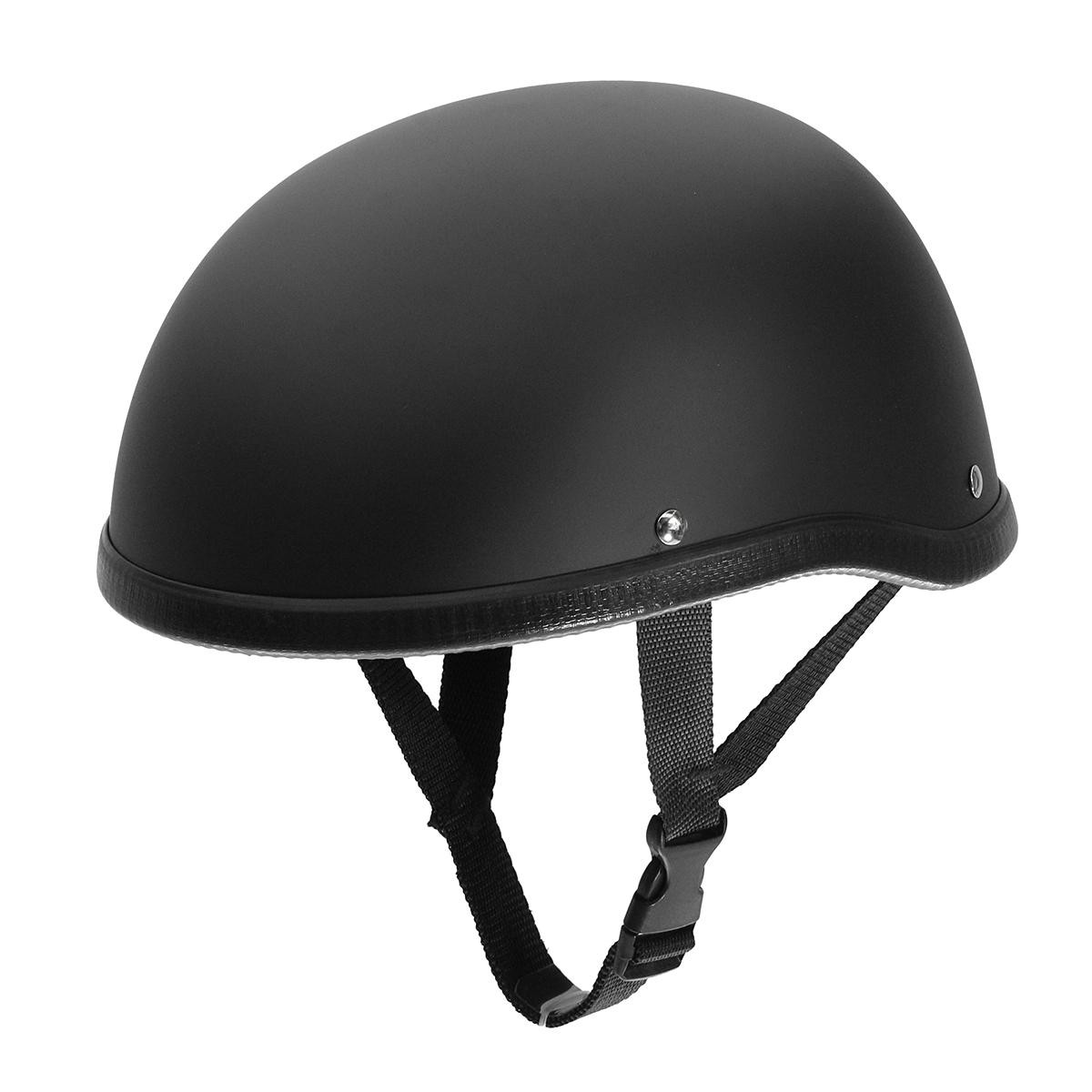 Free Online Home Design Motorcycle Helmet Vintage Half Face Cap Matte Black For