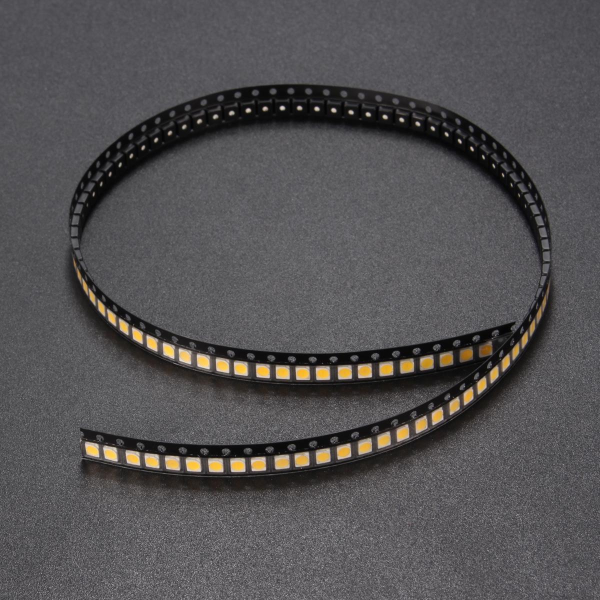 100PCS SMD3528 1210 1W 100LM Warm White LED Backlight DIY Chip Bead