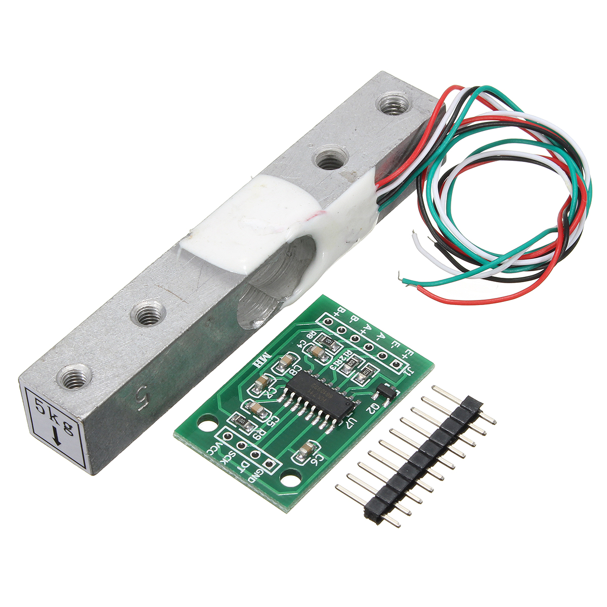 5kg Small Scale Load Cell Weighing Pressure Sensor With A