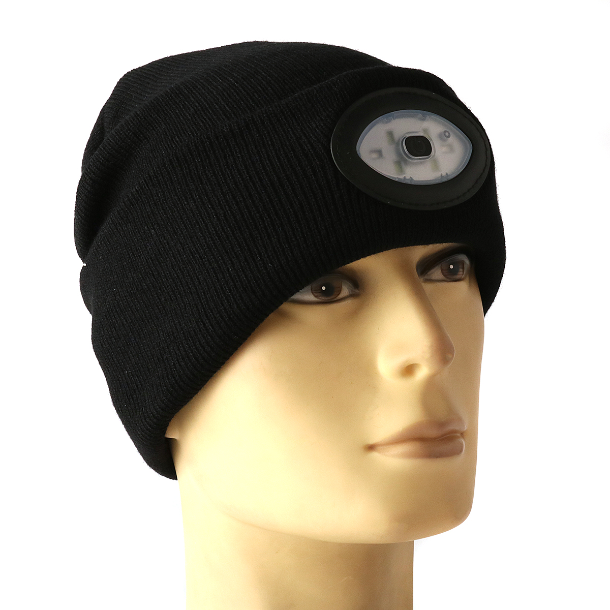 Sports Running 6 Led Beanie Knit Hat Rechargeable Cap