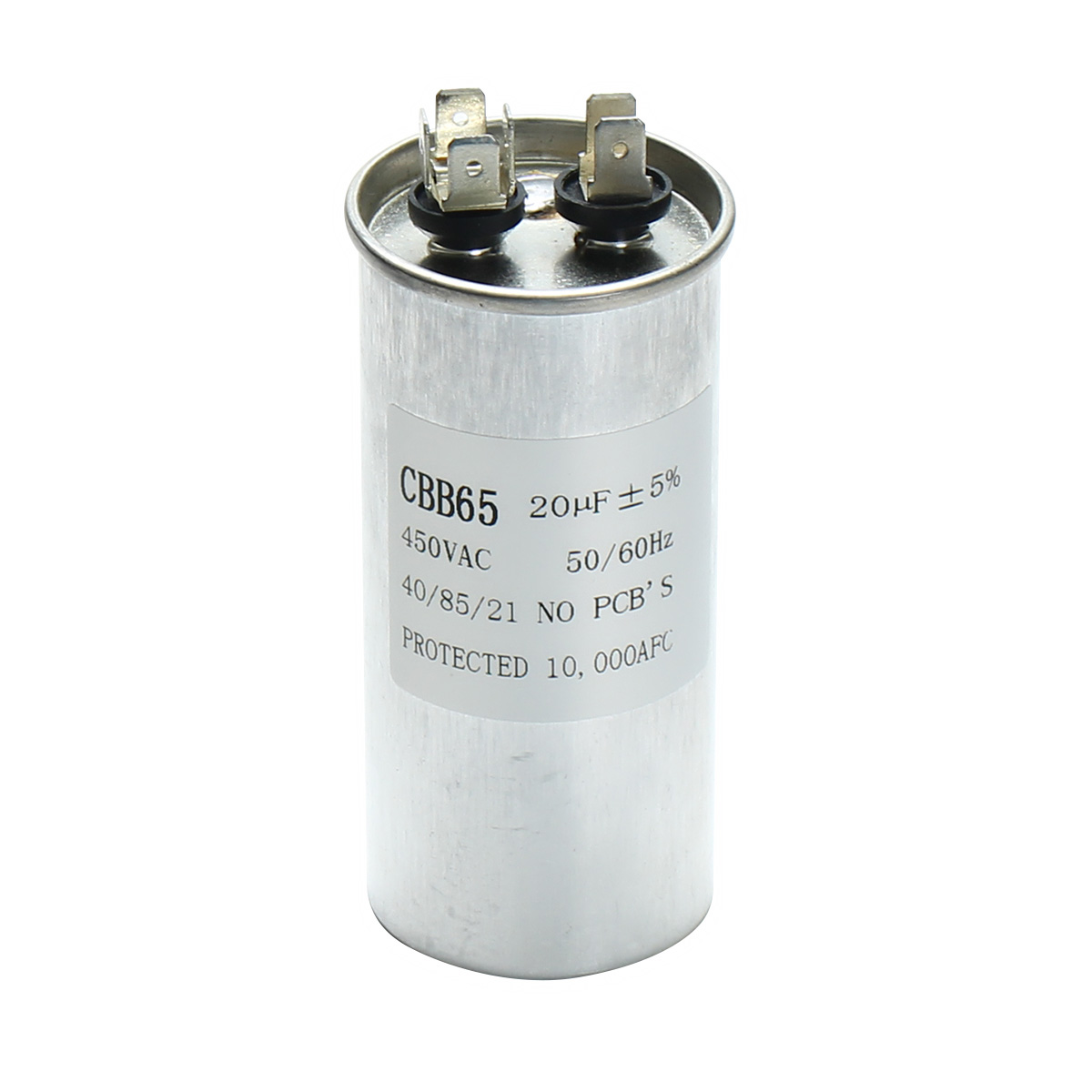 15 50uf motor capacitor cbb65 450vac air conditioner for Air conditioner compressor motor