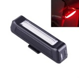 RAYPAL RPL-2261 100LM Red Light COB LED USB Rechargeable 6 Modes Bicycle Rear Light Warning Light with Handlebar Mount