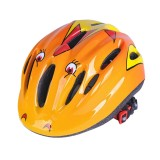 Children Outdoor Sports Biking Skating Skateboarding Adjustable Streamline Protective Helmet, 46 – 59 cm (Orange)