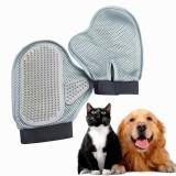 Yani HP-PG2 Pet Dog Steel Needle Massage Glove Bathing Hair Comb Anti-static Glove