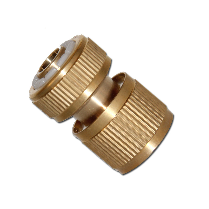1/2 Inch Copper Hose Quick Connector Garden Water Pipe Connector ...