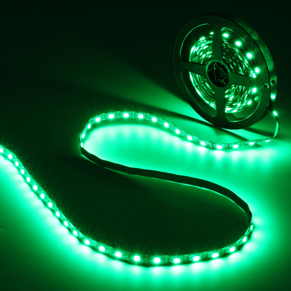 0.5/1/2/3/4/5M SMD5050 RGB LED Strip Lamp Bar TV Back Lighting Kit + USB Remote Control DC5V