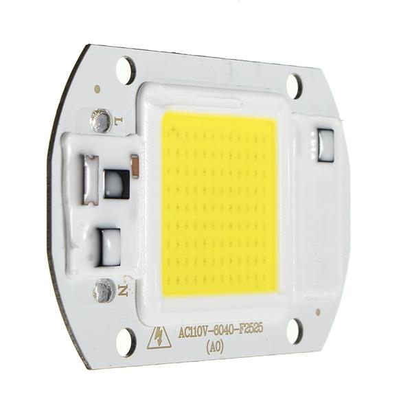 20W 1800LM Warm/White DIY COB LED Chip Bulb Bead 60x40mm For Flood Light AC110/220V