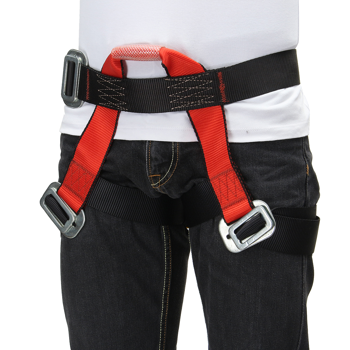Outdoor Mountain Rock Climbing Rappelling Harness Bust