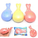 15cm Whale Squishy Slow Rising Pressure Release Soft Toy With Key Chains for iPhone Samsung Xiaomi