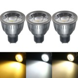 GU10 5W LED COB Black Aluminum Pure White Warm White Natural White Spot Light Bulb AC85-265V