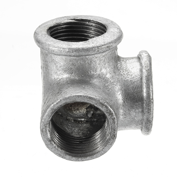 ″ way pipe fitting connector malleable iron