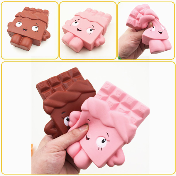 Pinkgymgirl Squishy Collection : Squishy Chocolate Bar Slow Rising 13cm Jumbo Cute Kawaii Collection Decor Gift Toy Alex NLD