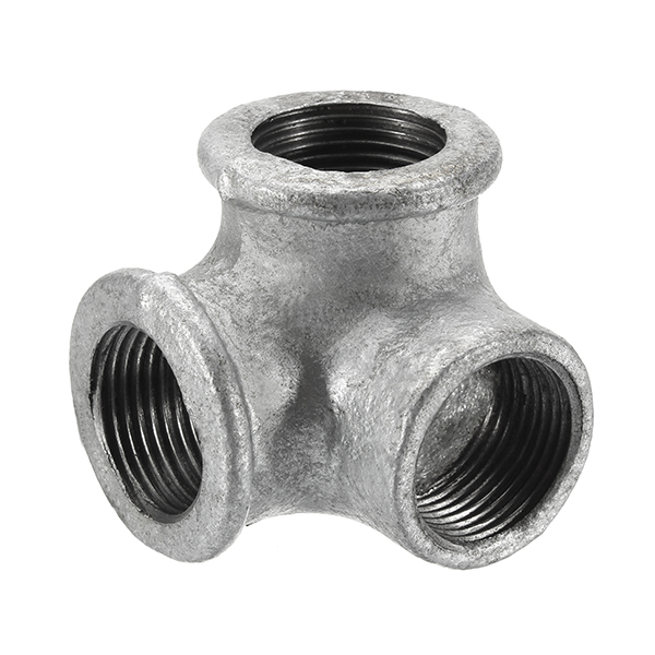 1/2  3/4  1  3 Way Pipe Fitting Connector Malleable  sc 1 st  Alexnld.com & 1/2u2033 3/4u2033 1u2033 3 Way Pipe Fitting Connector Malleable Iron Galvanized ...