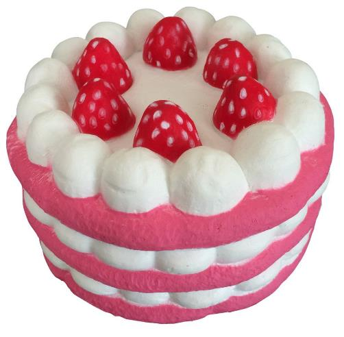 Eric Squishy Cuteyard Jumbo Strawberry Cake Slow Rising Original Packaging Collection Gift Decor ...