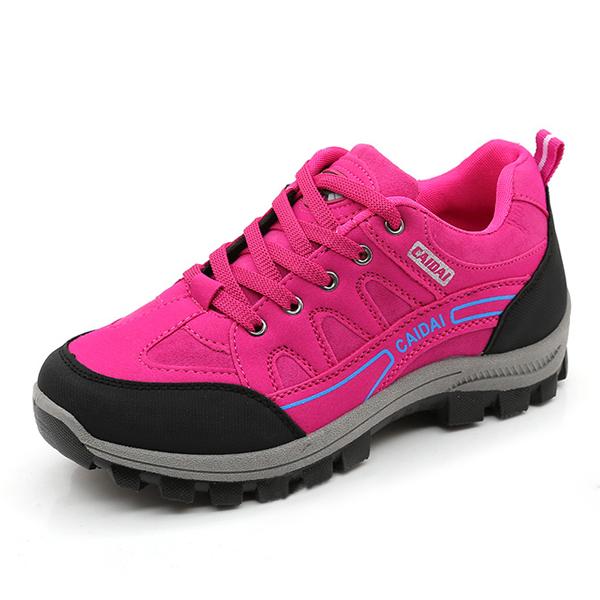 Sport Shoes Women Running Outdoor Lace Up Flats