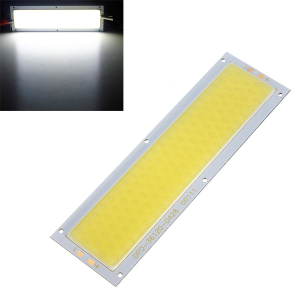 30W COB LED Chip DC12V Warm / Pure White 140x50mm for DIY Lamp Light
