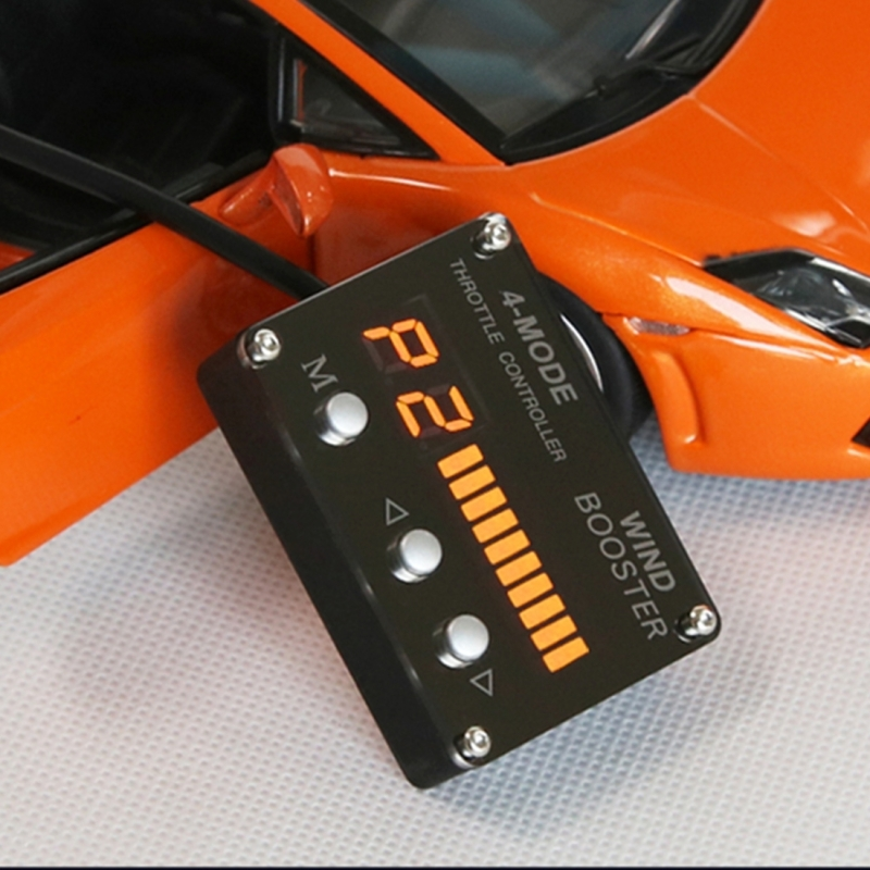 Car Auto 4-Model Electronic Throttle Accelerator with Orange LED Display for Volvo S80 S40 XC60