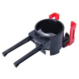 SHUNWEI SD-1026 Car Auto Multi-functional ABS Air Vent Drink Holder Bottle Cup Holder Phone Holder Mobile Mount (Red)