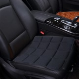 Universal Breathable Four Season Auto Ice Blended Fabric Mesh Seat Cover Cushion Pad Mat for Car Supplies Office Chair (Black)