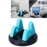 Car Auto Universal Dashboard ABS Phone Mount Holder for Most Phone (Blue)