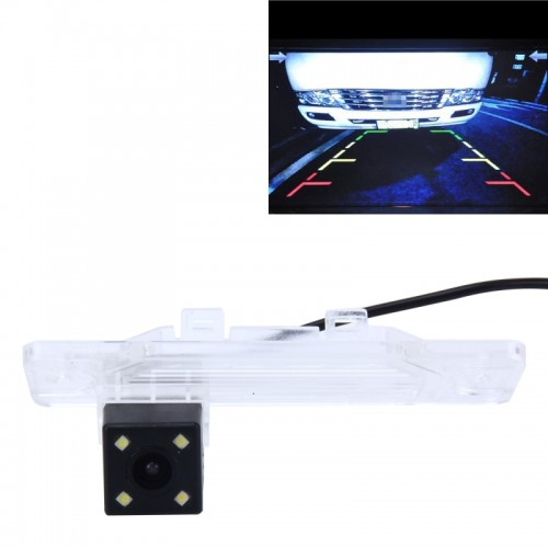 720?540 Effective Pixel PAL 50HZ / NTSC 60HZ CMOS II Waterproof Car Rear View Backup Camera With 4 LED Lamps for 2008-2015 Version Koleos