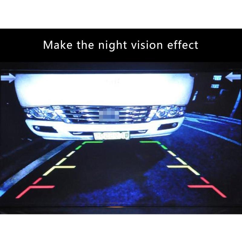 720?540 Effective Pixel PAL 50HZ / NTSC 60HZ CMOS II Waterproof Car Rear View Backup Camera With 4 LED Lamps for 2016 Version Kadjar