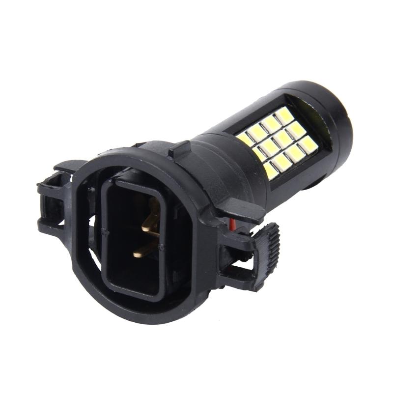 2 Pcs H16 10w 650 Lm 6000k Car Fog Lights With 42 Smd 2835