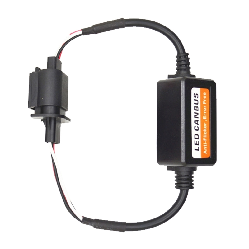 2 PCS H13 Car Auto LED Headlight Canbus Warning Error-free Decoder Adapter for DC 9-36V/20W-40W