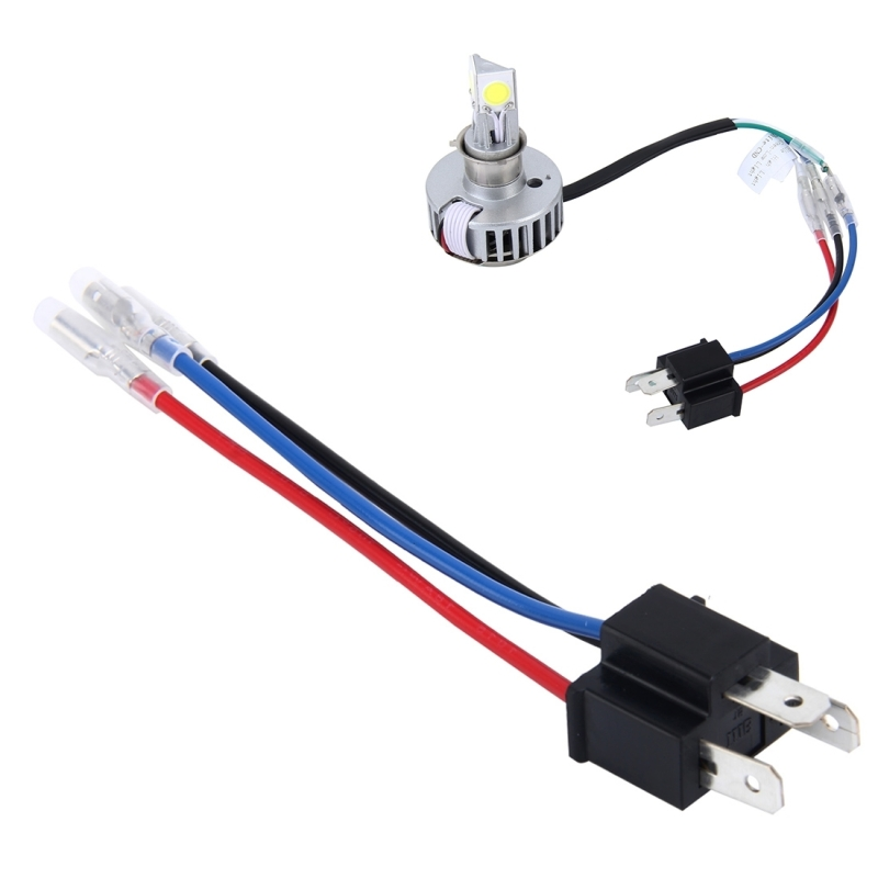 Motorcycle H4 LED Headlight Conversion Connector Cable | Alex NLD