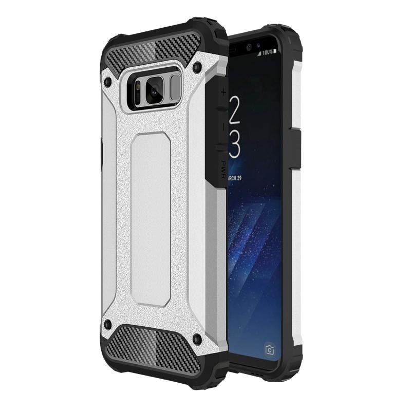 For Samsung Galaxy S8 Plus Tough Armor TPU + PC Combination Case ...