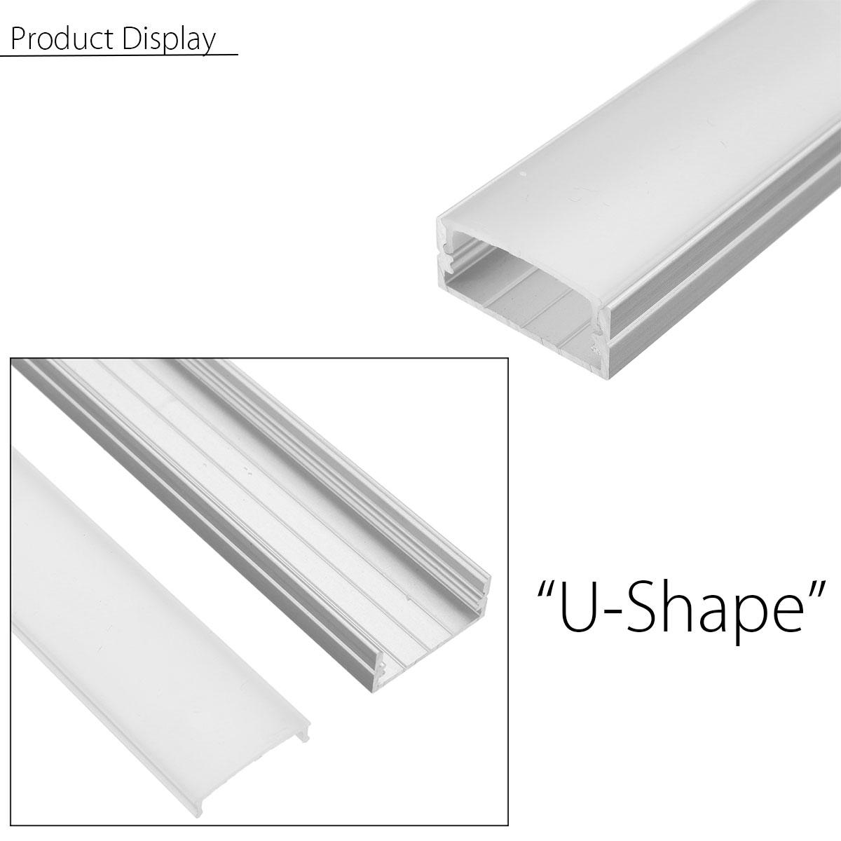 50cm U Yw V Shape Aluminum Channel Holder For Bar Under