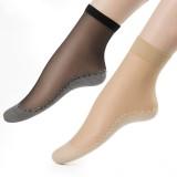 Women Velvet Cotton Bottom Short Sock Non-slip Feet Massage Comfortable Breathable Socks