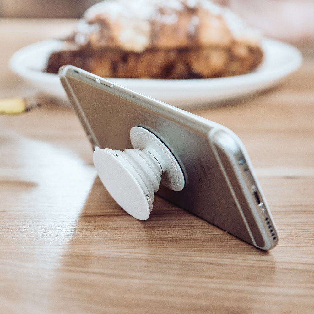 Expanding Stand and Grip Universal Deskstop Holder for Smartphones and Tablets