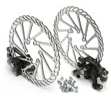 BIKIGHT 160MM MTB Bike Mechanical Disc Brake Front and Rear Brake Set