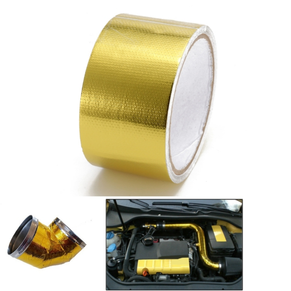 Reflect Gold Tape High Performance Heat Protection Roll Tape 50mm x 10m NEW