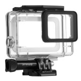 PULUZ for GoPro HERO5 45m Underwater Waterproof Housing Diving Protective Case with Buckle Basic Mount & Screw